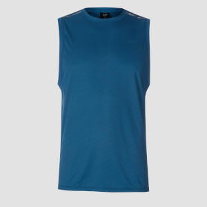 Training Grid Tank Top - Pilot Blue