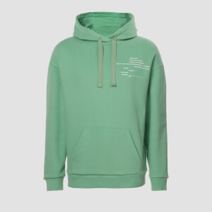 MP Men's Rest Day Slogan Hoodie - Turf
