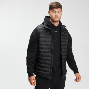 Men's Lightweight Padded Gillet -liivi - Musta