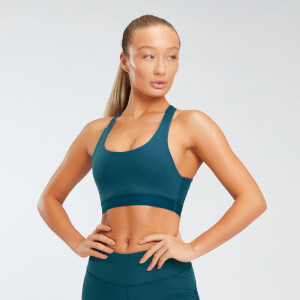 Power Mesh Sports Bra - Deep Lake