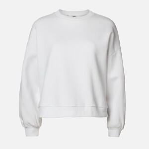 MP Women's Oversized Sweatshirt - White
