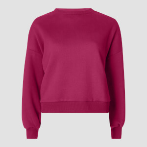 Oversized Sweatshirt - Crushed Berry