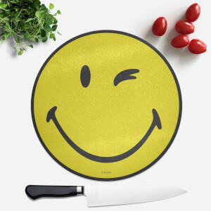 Smiley Round Chopping Board