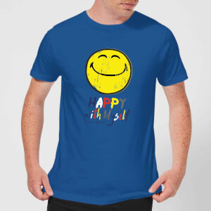Happy With Myself Men's T-Shirt - Royal Blue