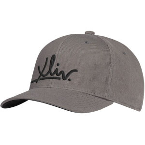 How Ridiculous XLIV Grey Embroidered Curved Peak Cap