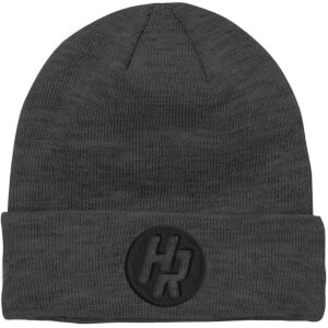 How Ridiculous HR Emblem Embroidered Grey Beanie