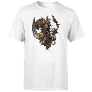 Sea of Thieves Dastardly Duo T-Shirt - White