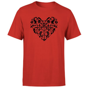 Sea of Thieves Heart T-Shirt - Red
