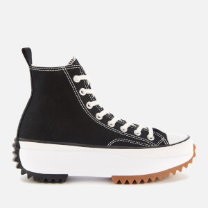 Converse Run Star Hike Hi-Top Trainers - Black/White/Gum