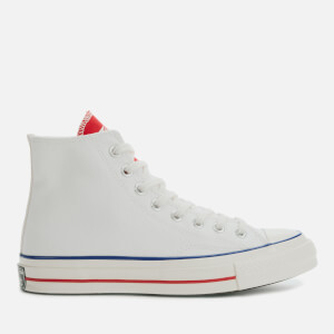Converse Men's Chuck 70 Twisted Tongue Hi-Top Trainers - White/University Red/Egret