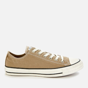 Converse Men's Chuck Taylor All Star Ox Trainers - Khaki/Egret/Black