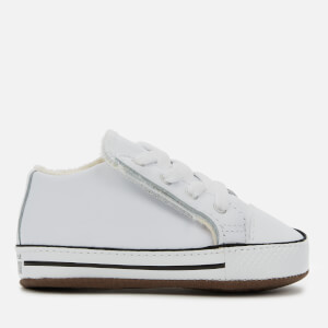 Converse Babies Chuck Taylor All Star Cribster Canvas Color Mid Trainers - White/Natural Ivory/White