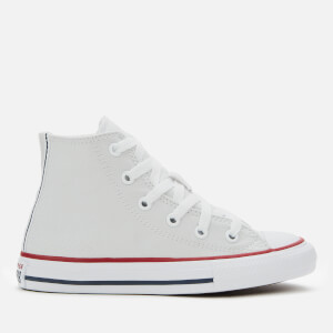 Converse Kids' Chuck Taylor All Star Twisted Varsity Hi-Top Trainers - Photon Dust/Garnet/White