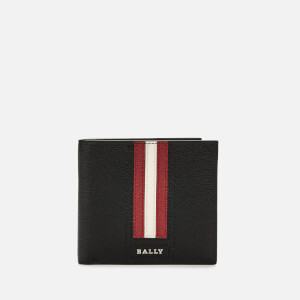 Bally Men's Trasai.Lt Wallet - Red Bally/Beige
