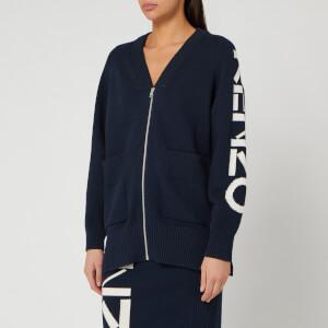 KENZO Women's Kenzo Sport Zipped Cardigan - Midnight Blue
