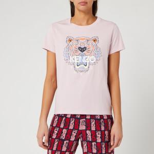 KENZO Women's Classic Tiger T-Shirt - Faded Pink