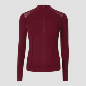 MP Women's Power Mesh Jacket - Oxblood