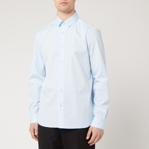 KENZO Men's Back Logo Shirt - Light Blue