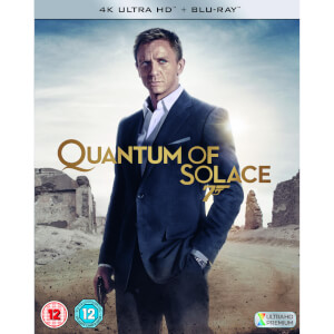 Quantum of Solace - 4K Ultra HD (Includes 2D Blu-ray)