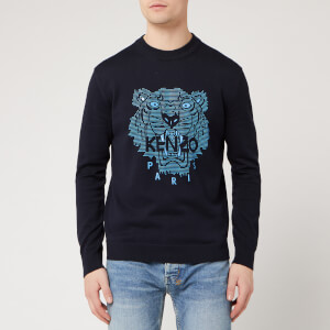 KENZO Men's Tiger Jumper - Midnight Blue