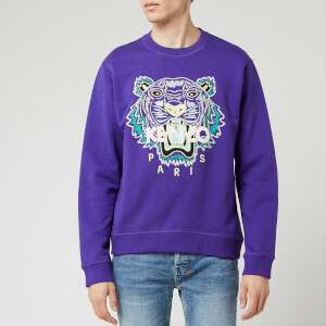 KENZO Men's Classic Tiger Sweatshirt - Plum Blue
