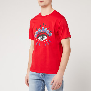 KENZO Men's Classic Eye T-Shirt - Medium Red