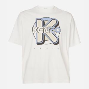 KENZO Men's Wetsuit Oversize T-Shirt - White