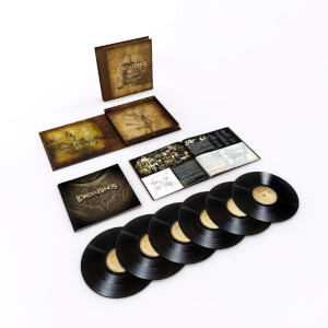The Lord Of The Rings: The Motion Picture Trilogy Soundtrack LP Set