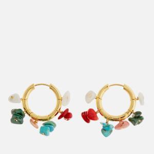 Anni Lu Women's Carine Hoop Earrings - Multi