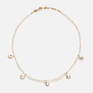 Anni Lu Women's Marianne Pearl Necklace - Cream Pearl