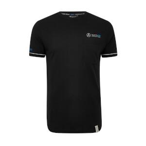 Men's Black Pocket T-Shirt