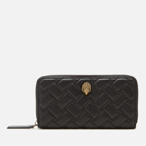 Kurt Geiger London Women's Kensington Zip Around Wallet - Black