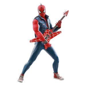 Hot Toys Marvel's Spider-Man Video Game Masterpiece Action Figure 1/6 Spider-Punk 30cm