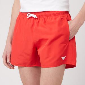Emporio Armani Men's Classic Swim Shorts - Fiamma