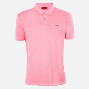 HUGO Men's Dagic Polo Shirt - Bright Pink