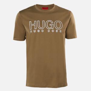 HUGO Men's Dolive-U202 T-Shirt - Dark Beige