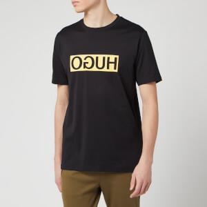 HUGO Men's Dicagolino202 T-Shirt - Black