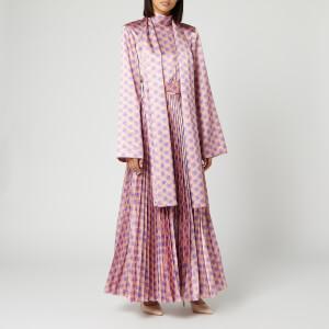 Solace London Women's Elin Midaxi Dress - Nude/Lilac