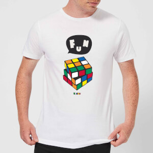 Solving Rubik's Cube Fun Men's T-Shirt - White