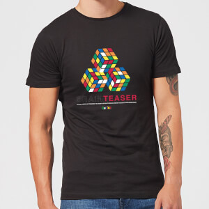 Brain Teaser Trio Rubik's Cube Men's T-Shirt - Black