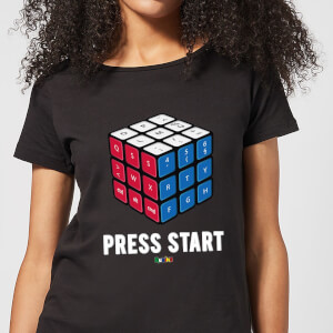 Press Start Women's T-Shirt - Black