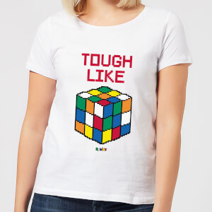 Tough Like A Rubik's Cube Women's T-Shirt - White