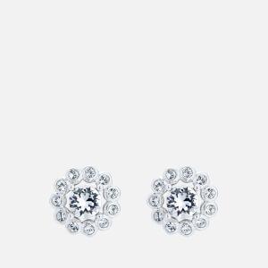 Ted Baker Women's Lralyi: Daisy Crystal Daisy Stud Earring - Silver/Crystal