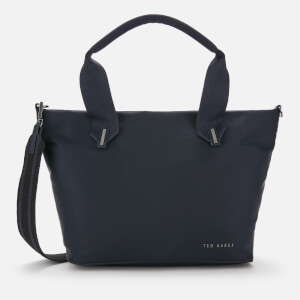 Ted Baker Women's Macieyy Plain Small Nylon Tote Bag - Dark Blue