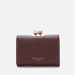 Ted Baker Women's Suri Twist Crystal Mini Bobble Purse - Maroon