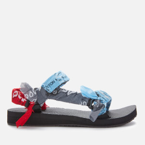 Arizona Love Women's Trekky Bandana Sandals - Mix Blue