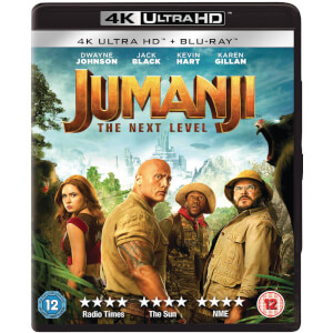 Jumanji: The Next Level - 4K Ultra HD (Includes Blu-ray)