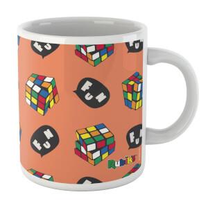 Rubik's Cube Fun Speech Bubble Mug