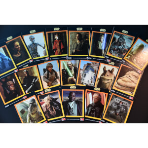 Star Wars: Episode 1 - The Phantom Menace (1999) Vintage Trading Cards - Complete Set of 20
