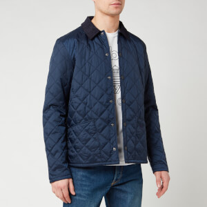 Barbour Beacon Men's Starling Quilt Jacket - Royal Navy